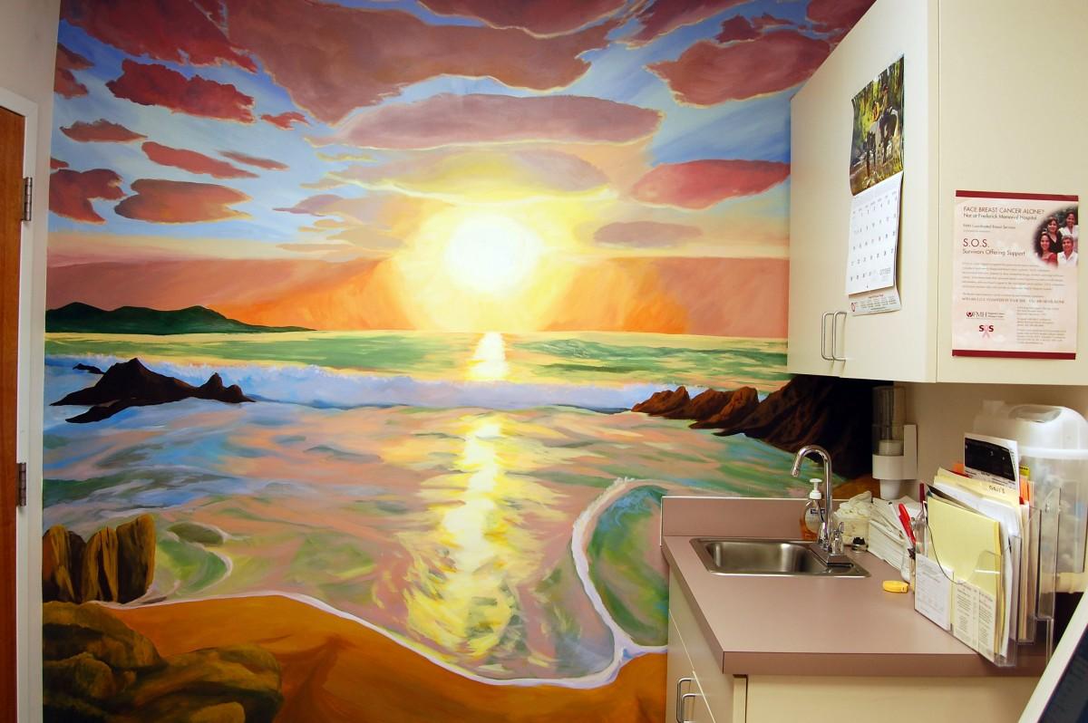 2012 Acrylic on Treated Drywall, 8.5' x 7'