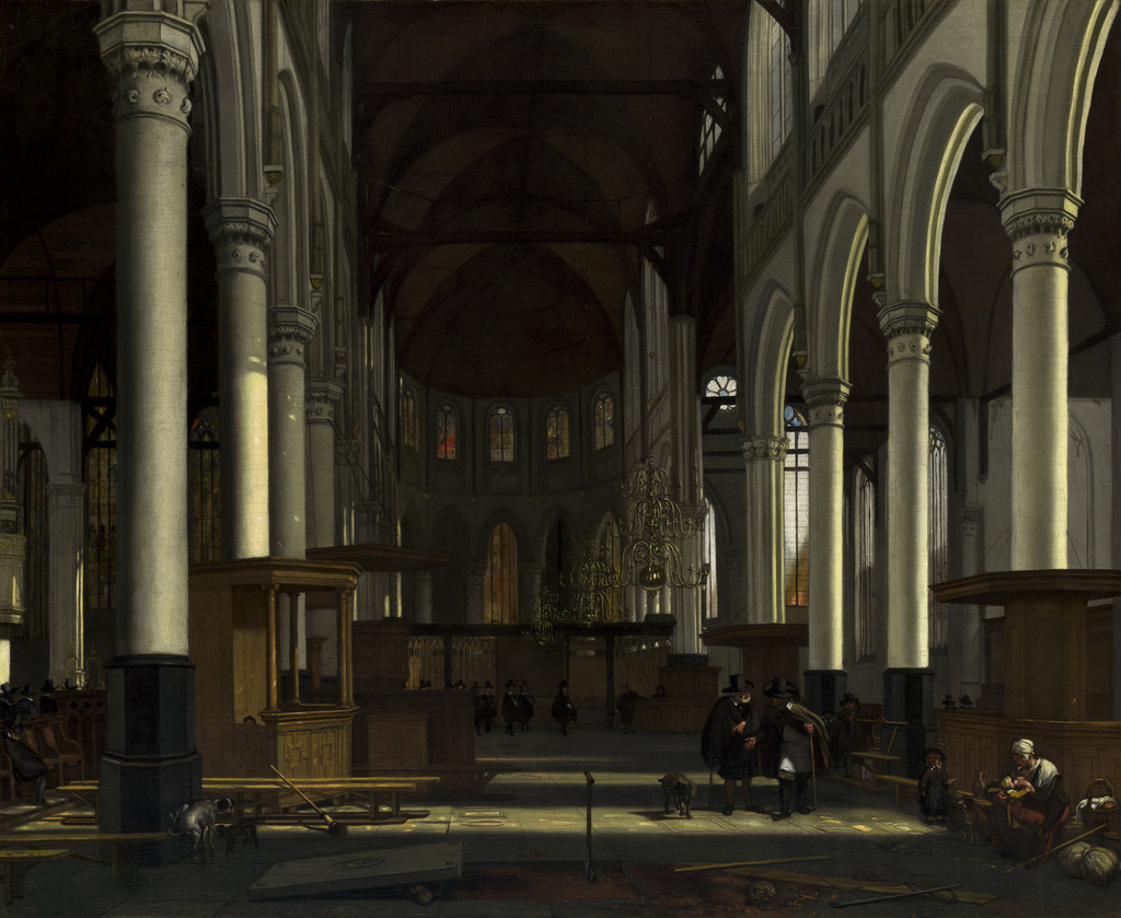 emanuel-de-witte-the-interior-of-the-oude-kerk-amsterdam-ca-1660